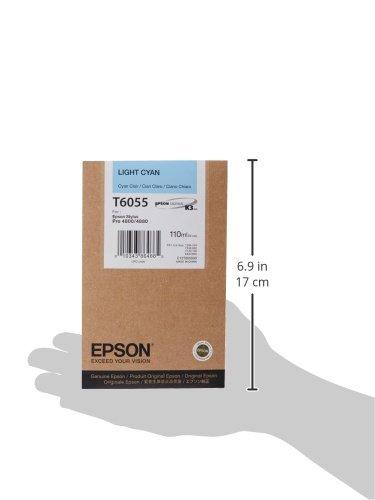 Epson T605500 UltraChrome K3 110ml Light Cyan Cartridge (T605500) Photo #2