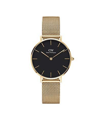 Daniel Wellington Unisex-Uhren Analog Quarz 32 Gold/Schwarz 32013510
