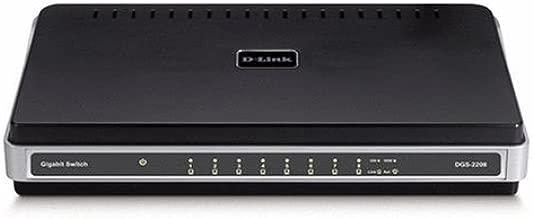 D-Link DGS-2208 8-Port 10/100/1000 Desktop Switch
