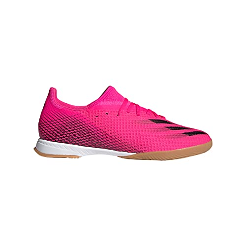 adidas X GHOSTED.3 in, Chaussure de Football Homme, Multicolore (Rossho Negbás Narchi), 44 EU