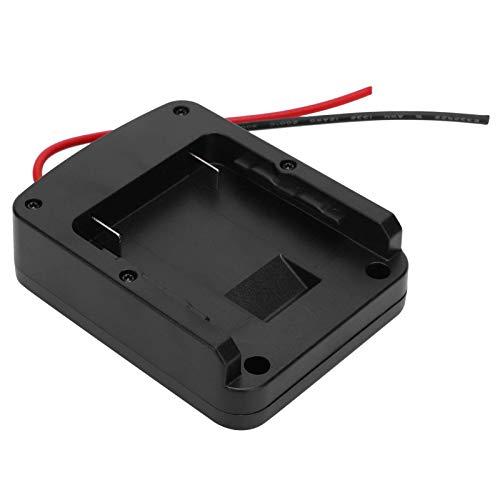 DCB Adaptador de batería Herramienta inalámbrica Convertidor de batería para batería de litio de 14,4 V / 18 V Cargador USB dual para Bosch 14,4 V / 18 V para Milwaukee Drill BAT para Bosch