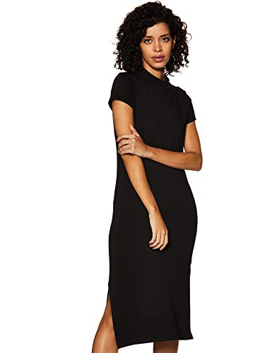 Amazon Brand – Symbol Women's Cotton Bodycon Midi Dress