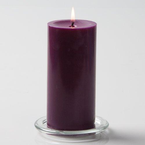 Richland 3' X 6' Hand Poured Purple Pillar Candle