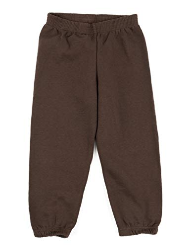 Leveret Kids Boys Sweatpants Brown Size 10 Years