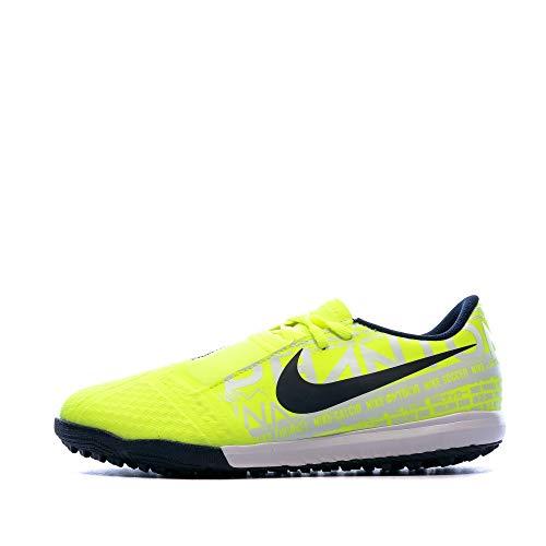 Nike Youth Phantom Venom Academy Turf Soccer Shoes (Volt/Obsidian Volt, Numeric_5)