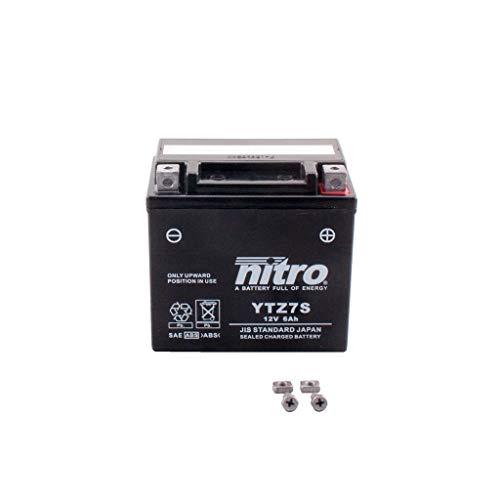 Batterie 12V 6AH YTZ7S Gel Nitro passend für 125 Duke IS Duke 2011-2013