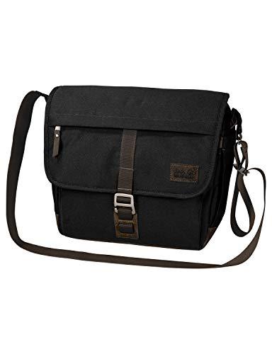 Jack Wolfskin Unisex-Erwachsene Camden Town sac à bandoulière Umhängetasche, Schwarz (Black), One Size
