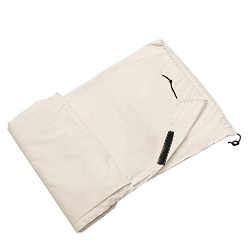 TOPEREUR Pool Cover - Poolabdeckplane - (550x96cm) - Für Easy Set Pool - Pool-Aufroller Pool-Reel Schwimmbadrolle Aufrollvorrichtung für Poolabdeckung (Beige)