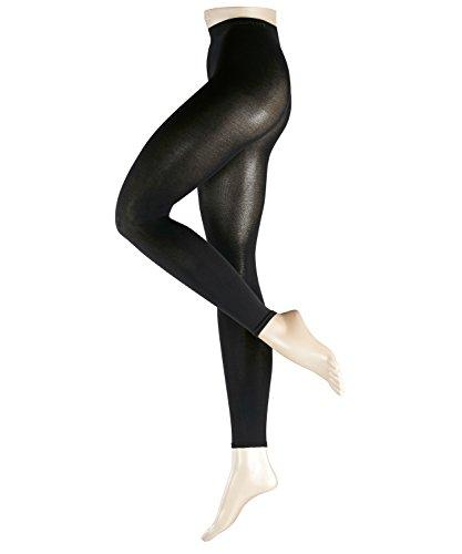 ESPRIT Damen Leggings Cotton, Baumwollmischung, 1 Stück, Schwarz (Black 3000), Größe: 40-42