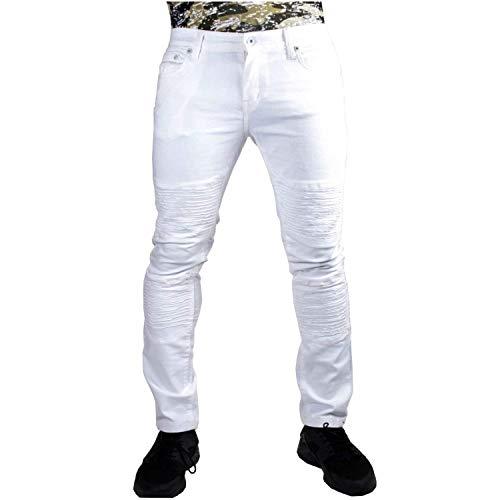 Peviani -  Jeans - Uomo Bianco White