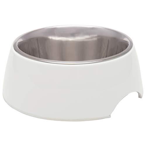 Loving Pets 7140 Retro Bowl for Dogs, Ice White, Medium