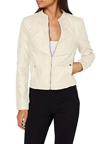 VERO MODA Damen VMFAVODONA Coated Jacket Kunstlederjacke, Birch, S