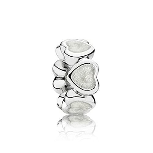 Pandora 925 ciondolo in argento sterling fai da te perline abbondanza di amore distanziatore fascino adatto moda donna braccialetto braccialetto regalo gioielli