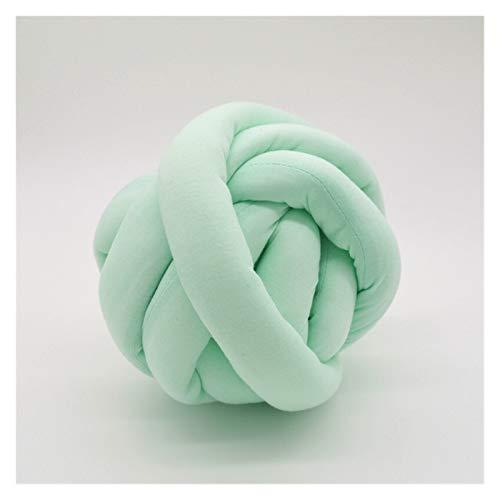 Hilo Gigante Hilado Súper Grueso Especial Alfombra de Punto con Huelga de Mano DIY Cat Nest Anti-Collision Knot Abrazo Gigante De TejeduríA Manual (Color : Ya Green 4 cm)