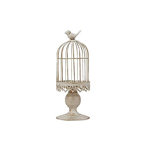WEISIPU Open Birdcage Candle Holder…