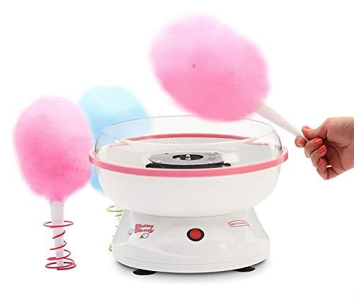 J-JATI Cotton Candy Electric Maker, Hard Candy Maker, Sugar Free Candy Machine family fun In home cotton candy machine White