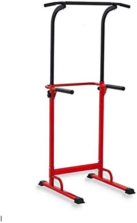 Barra di trazione regolabile per sollevamento pesi, multifunzione pull up fitness B077Q6VQQT