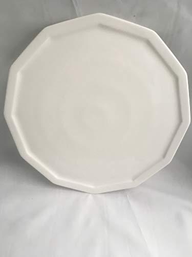 Rosenthal Polygon weiß Tortenplatte Ø 32,5 cm KEIN Hotel