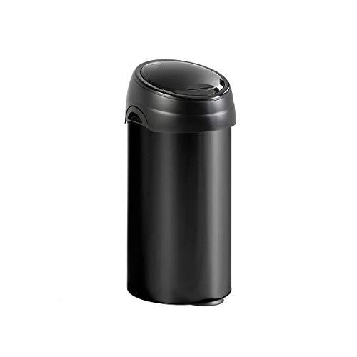 Collecteur de déchets Touch, capacité 60 l, noir -
