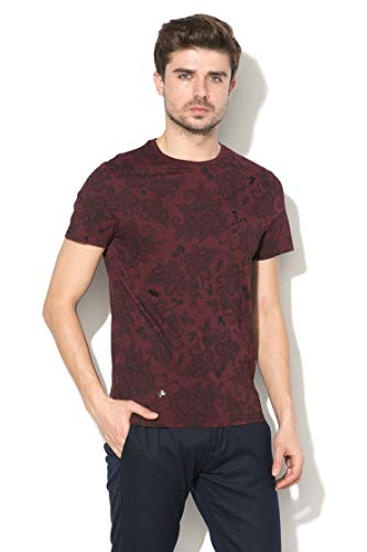 Guess Camiseta Homme Jersey Burdeos