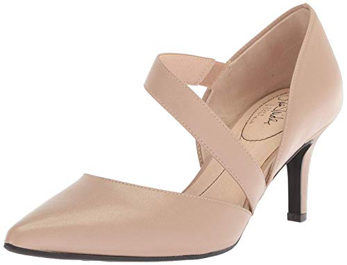 LifeStride Women's Suki Pump, Tender Taupe, 8 M US