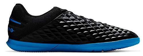 Nike Unisex-Erwachsene Legend 8 Club Ic Fußballschuhe, Mehrfarbig (Black/Blue Hero 4), 44 EU