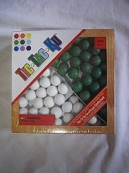 Tic-Tac-Ku Add On Kit For Colorku Board (Green/White) By Mad Cave Bird Games by Mad Cave Bird Games