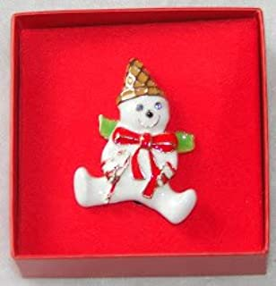 Mr. Bingle Pin Brooch Enamel & Crystal by Merry & Bright (New Orleans Icon)