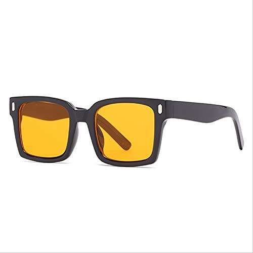 ODNJEMSD Gafas De Sol Cuadradas De Moda para Mujer