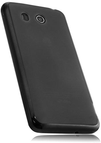 mumbi Hülle kompatibel mit Huawei Ascend G525 Handy Case Handyhülle, schwarz