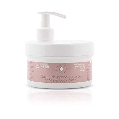 Profesional Cosmetics Crema de manos, 500 ml, Pack de 1