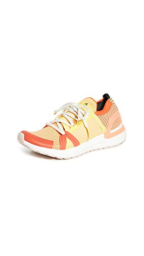 adidas by Stella McCartney Women's Ultraboost 20 S. Sneakers, Active Orange/Fresh Lemon/Expl, 6 Medium US
