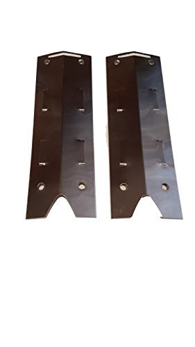 Set of Two Replacement Steel Heat Plates for Brinkmann Gas Grill Model 810-4220-S