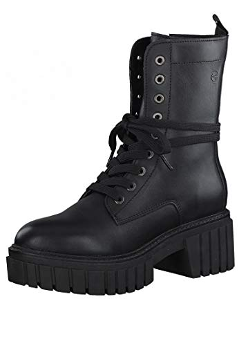 Tamaris Botines elegantes para mujer, 2-25893-35, color negro, color Negro, talla 38 EU