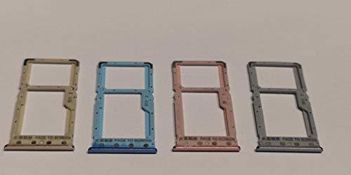 Voor Xiaomi Redmi 6 reserve sleufhouder, voor kaartsleuven, simkaartlezer, trolley, tablet, houder voor nano SIM-kaarten of opslagvak micro-SD