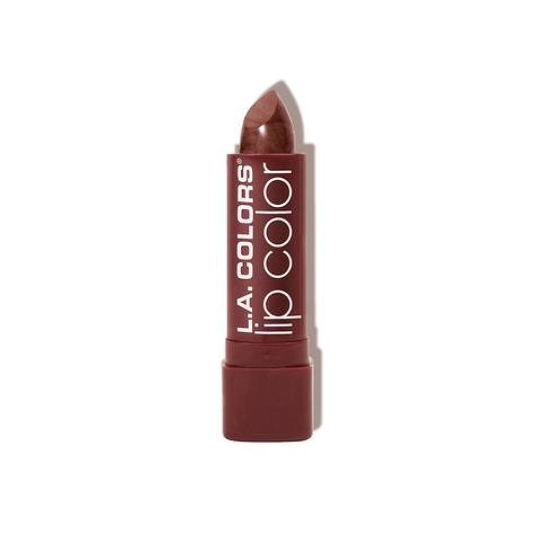 アクセント遅れ実現可能L.A. COLORS Moisture Rich Lip Color - Cocoa Shimmer (並行輸入品)