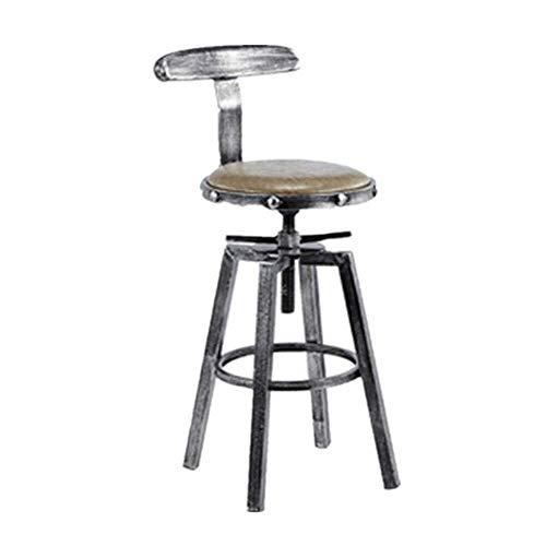 Daily Equipment Gaming Chair Computer Chairs Bar Chair Bar Chair Restaurant Cafe Kitchen Barber Shop Bar Chair Height Adjustable Bar Chair Decoration Back Chair Chair Bar Chair High Stool (Color :