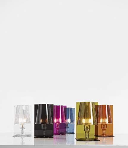 Kartell 9050CV mesa Take de techo transparente conjunto de 6 multicolor