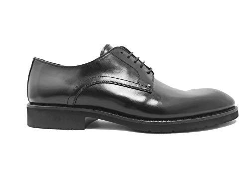 Luis Gonzalo 1966- Zapatos de Hombre Blucher 7595H (Negro, Numeric_43)