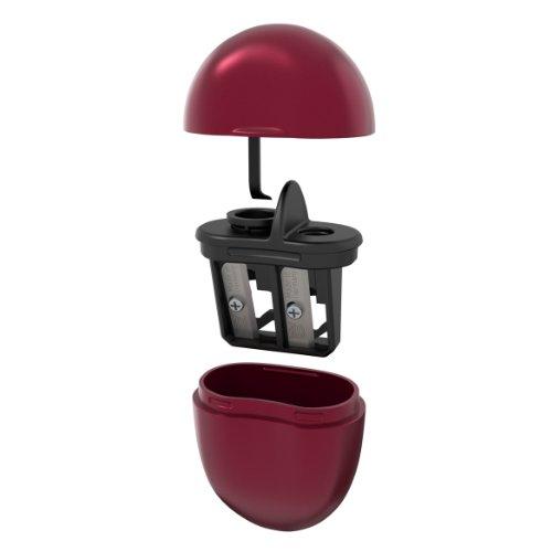 Slice 10430 Kosmetikstift Spitzer mit Soft-Touch Beschichtung, Rot