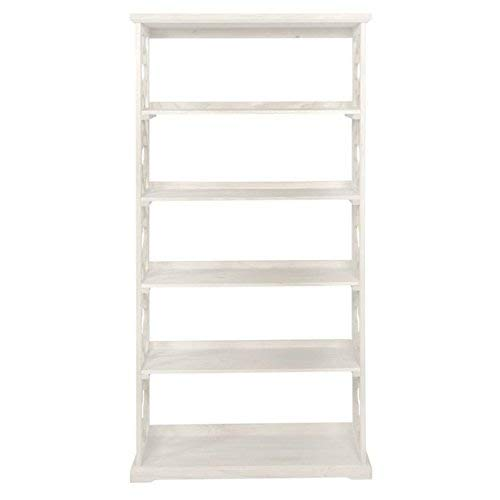 Powell Turner Bookcase, Antique White,