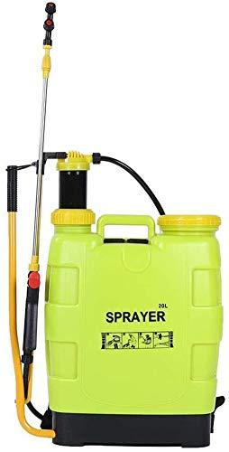 Pump Action Drukspuit, 20L Knapzakspuit Liter Handmatige drukspuit Fles Knapzak Spray Weed Killer Garden