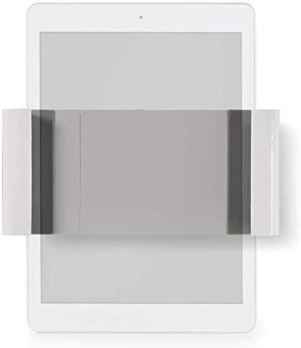 Invero Soporte de pared universal fijo para tablet que se adapta a la mayoría de tamaños de pantalla de 7 a 12 pulgadas, ideal para hogares inteligentes, oficinas, bares, restaurantes y más.