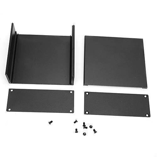 Caja de refrigeración de aluminio, caja de instrumentos PCB para placa de circuito, caja de proyecto electrónico DIY para productos electrónicos