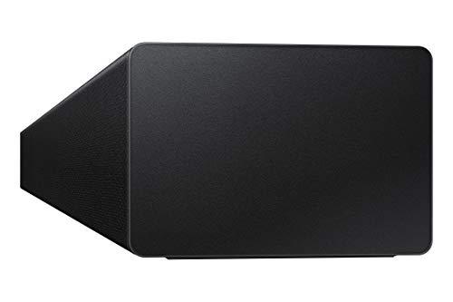 Barra de Sonido SAMSUNG HW-T420 - Sonido 150W, 2.1 Ch, Subwoofer cableado, Dolby Digital 2.1, Bluetooth 4.2 Power On, Game Mode y One Remote Control