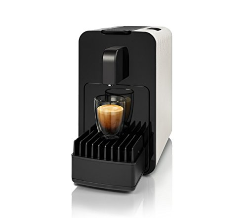 Cremesso 1000556i Kaffee Maschine Viva B6, Smokey White