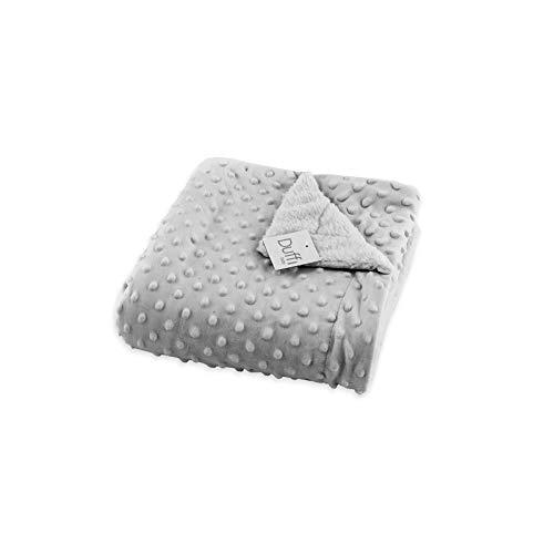 Duffi Baby 5502-11 - Manta luxe borreguillo, 80 x 110 cm