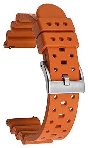 Banda de reloj de silicona Reloj de reloj de silicona Correa de goma de silicona con cable Silicona Correa Correa para mujer Reloj de correa de hombre Deportes Reloj de reloj deportivo a prueba de agu