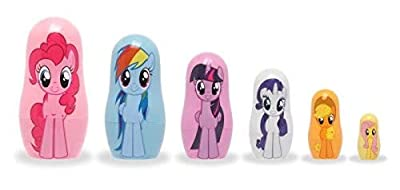 Ppw Collectibles Hasbro's My Little Pony Nesting Doll Set