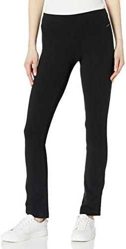 Jockey Women s Skim Fit Long Pant Deep Black Medium product image